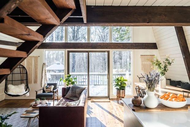 Фотография: Гостиная в стиле Прованс и Кантри, Декор интерьера, уют дома, скандинавский стиль в интерьере, хюгге – фото на INMYROOM
