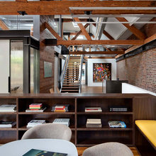 Фотография: Офис в стиле Лофт, Офисное пространство, Дома и квартиры, Проект недели – фото на InMyRoom.ru