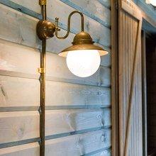 Фотография: Мебель и свет в стиле Кантри, Современный, Декор интерьера, Дачный ответ, Веранда – фото на InMyRoom.ru