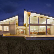 Фотография: Архитектура в стиле , Дом, Ландшафт, Минимализм, Эко – фото на InMyRoom.ru