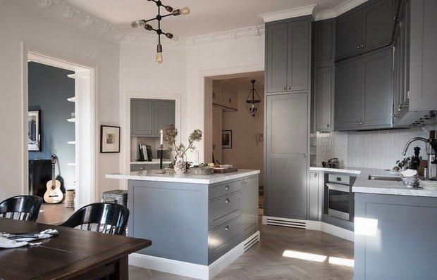 Фотография: Кухня и столовая в стиле Классический, Скандинавский, Квартира, Швеция, Советы – фото на INMYROOM