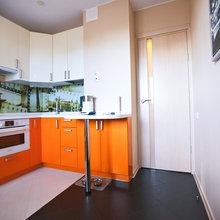 Фото из портфолио Шоколад, апельсин и авокадо - съедобная квартира в Москве – фотографии дизайна интерьеров на InMyRoom.ru