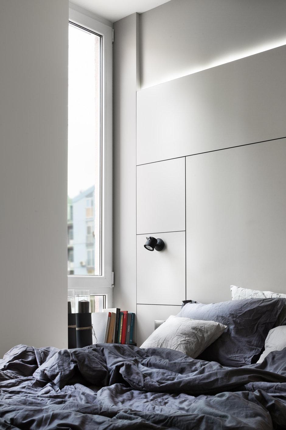 Фотография: Спальня в стиле Минимализм,  – фото на InMyRoom.ru