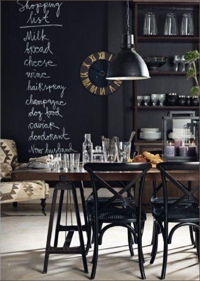 Фотография: Кухня и столовая в стиле Лофт, Эклектика, Декор интерьера, Интерьер комнат – фото на InMyRoom.ru