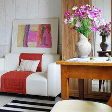Фотография: Гостиная в стиле , Кантри, Дом, Дома и квартиры, Проект недели, Дача – фото на InMyRoom.ru