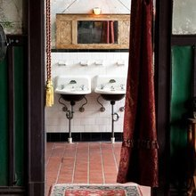 Фотография: Ванная в стиле Кантри, Лофт, Декор интерьера, Декор, Советы – фото на InMyRoom.ru