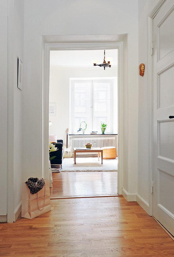 Фотография: Прихожая в стиле Скандинавский, Современный, Малогабаритная квартира, Квартира, Швеция, Дома и квартиры – фото на InMyRoom.ru