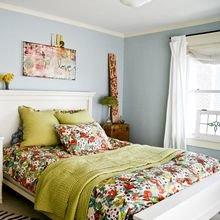 Фотография: Спальня в стиле Кантри, Квартира, Советы, Ремонт на практике – фото на InMyRoom.ru