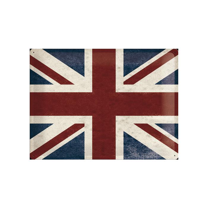 Металлическая табличка - Union Jack