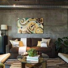 Фотография: Гостиная в стиле Лофт, Декор интерьера, Декор дома, Индустриальный – фото на InMyRoom.ru