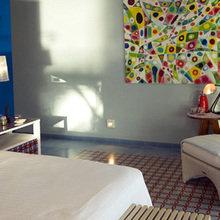 Фотография: Спальня в стиле Современный, Эклектика, Дома и квартиры, Городские места, Отель – фото на InMyRoom.ru