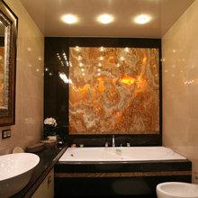 Фото из портфолио Наши работы с натуральным камнем – фотографии дизайна интерьеров на INMYROOM