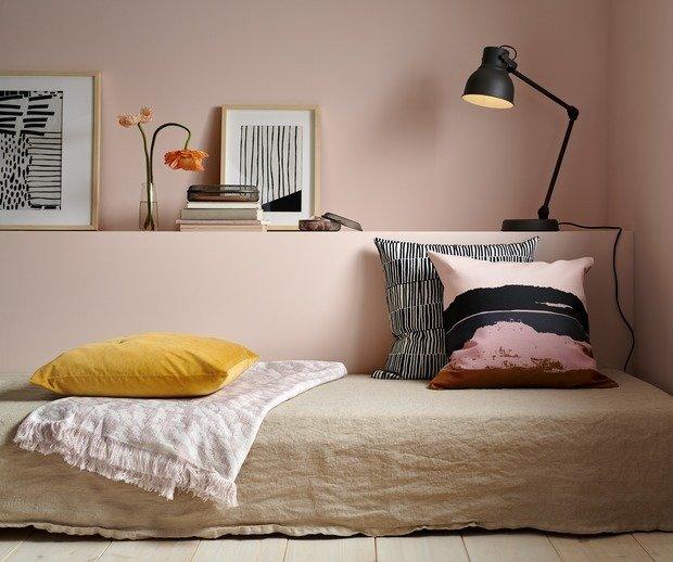 Фотография: Спальня в стиле Минимализм, Аксессуары, Декор, Мебель и свет, Гид, ИКЕА – фото на INMYROOM