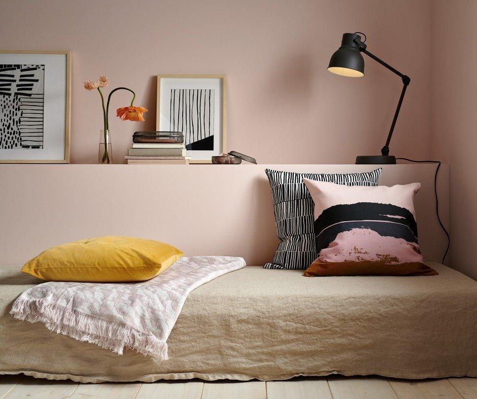 Фотография: Спальня в стиле Минимализм, Аксессуары, Декор, Мебель и свет, Гид, ИКЕА – фото на InMyRoom.ru