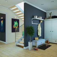 Фото из портфолио Интерьер частного коттеджа  – фотографии дизайна интерьеров на INMYROOM