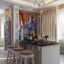 Фото из портфолио Четырехкомнатная квартира – фотографии дизайна интерьеров на INMYROOM