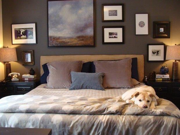 Фотография: Спальня в стиле Современный, Декор интерьера, Мебель и свет, Декор дома, Кресло – фото на InMyRoom.ru
