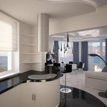 Фото из портфолио Дизайн кухни – фотографии дизайна интерьеров на InMyRoom.ru