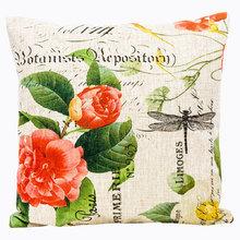 Декоративная подушка «Лесная сказка», версия 1