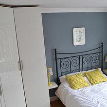 Фотография: Спальня в стиле Кантри, Скандинавский, Современный, Переделка, ИКЕА – фото на InMyRoom.ru