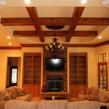 Фото из портфолио Дом деревяный - электромонтаж – фотографии дизайна интерьеров на INMYROOM