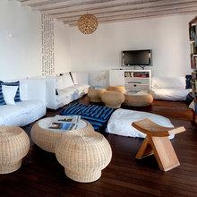Фотография: Гостиная в стиле Восточный, Дома и квартиры, Городские места, Отель, Греция – фото на InMyRoom.ru