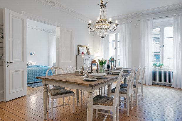 Фотография: Кухня и столовая в стиле Классический, Декор интерьера, Дизайн интерьера, Цвет в интерьере, Советы, Белый – фото на InMyRoom.ru