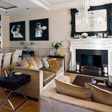 Фотография: Гостиная в стиле Современный, Декор интерьера, Декор дома, Камин – фото на InMyRoom.ru