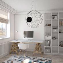 Фото из портфолио Скандинавский стиль. Квартира в многоэтажном доме.  – фотографии дизайна интерьеров на INMYROOM