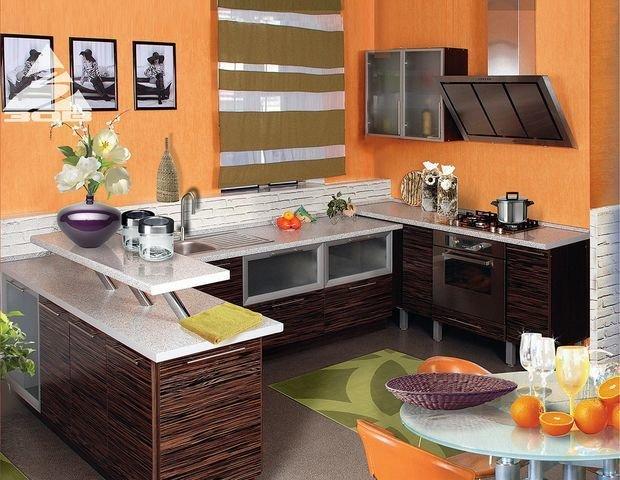 Фотография: Мебель и свет в стиле Классический, Кухня и столовая, Декор интерьера, Квартира, Дом, Декор, Оранжевый – фото на InMyRoom.ru