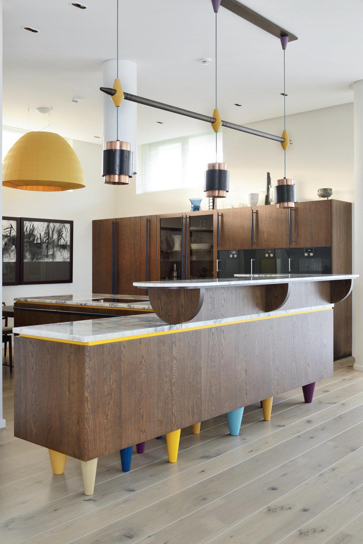 Фотография: Кухня и столовая в стиле Лофт, Эклектика, Интерьер комнат, Проект недели – фото на InMyRoom.ru
