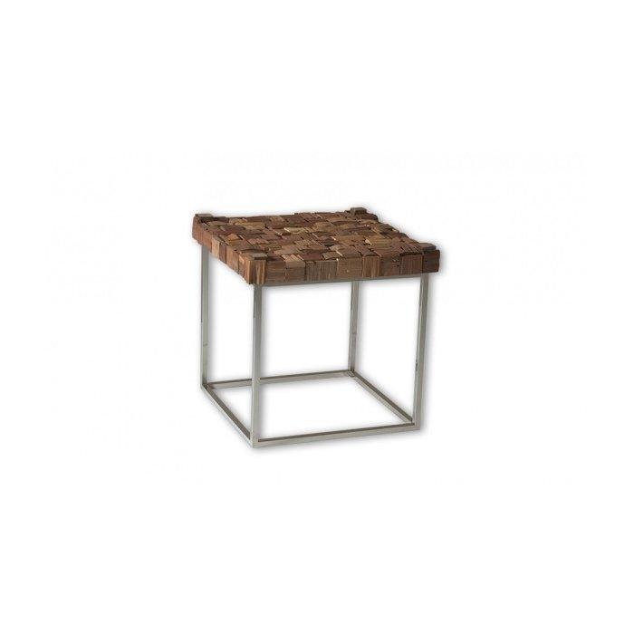 Кофейный стол CHILL BLOKC WOOD TOP
