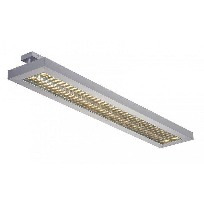 Светильник потолочный SLV Long Grill Ceilingсеребристый