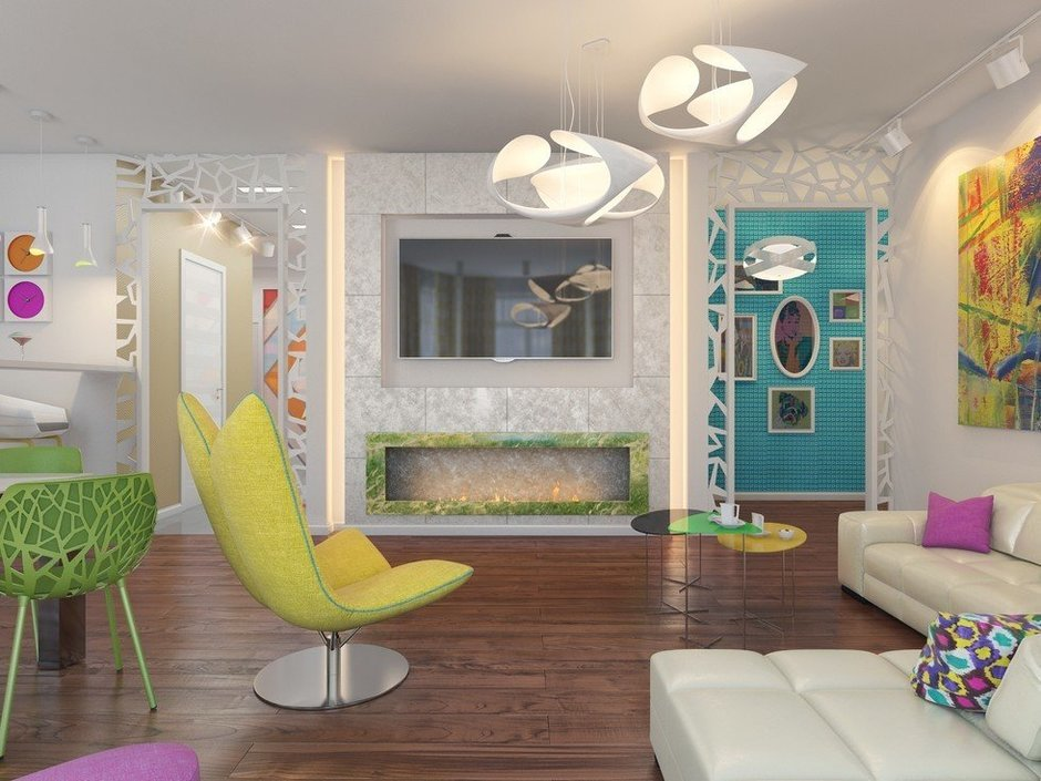 Фотография: Гостиная в стиле Эклектика, Декор интерьера, Квартира, Natuzzi, Дома и квартиры, Проект недели, Moroso – фото на InMyRoom.ru