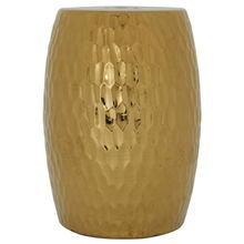 керамический столик-табурет в виде барабана