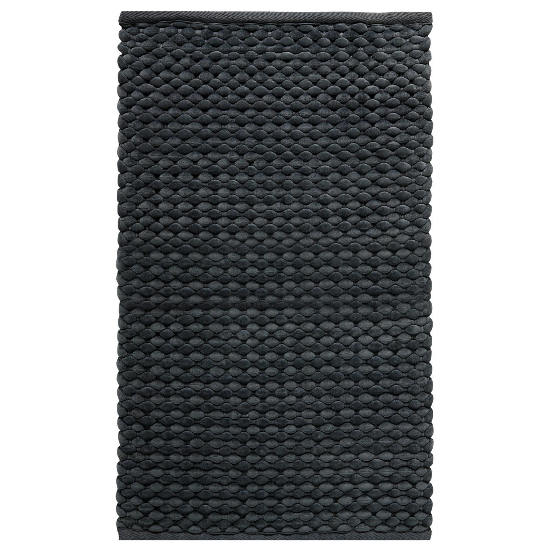 Коврик для ванной Maks черный 60x100 см