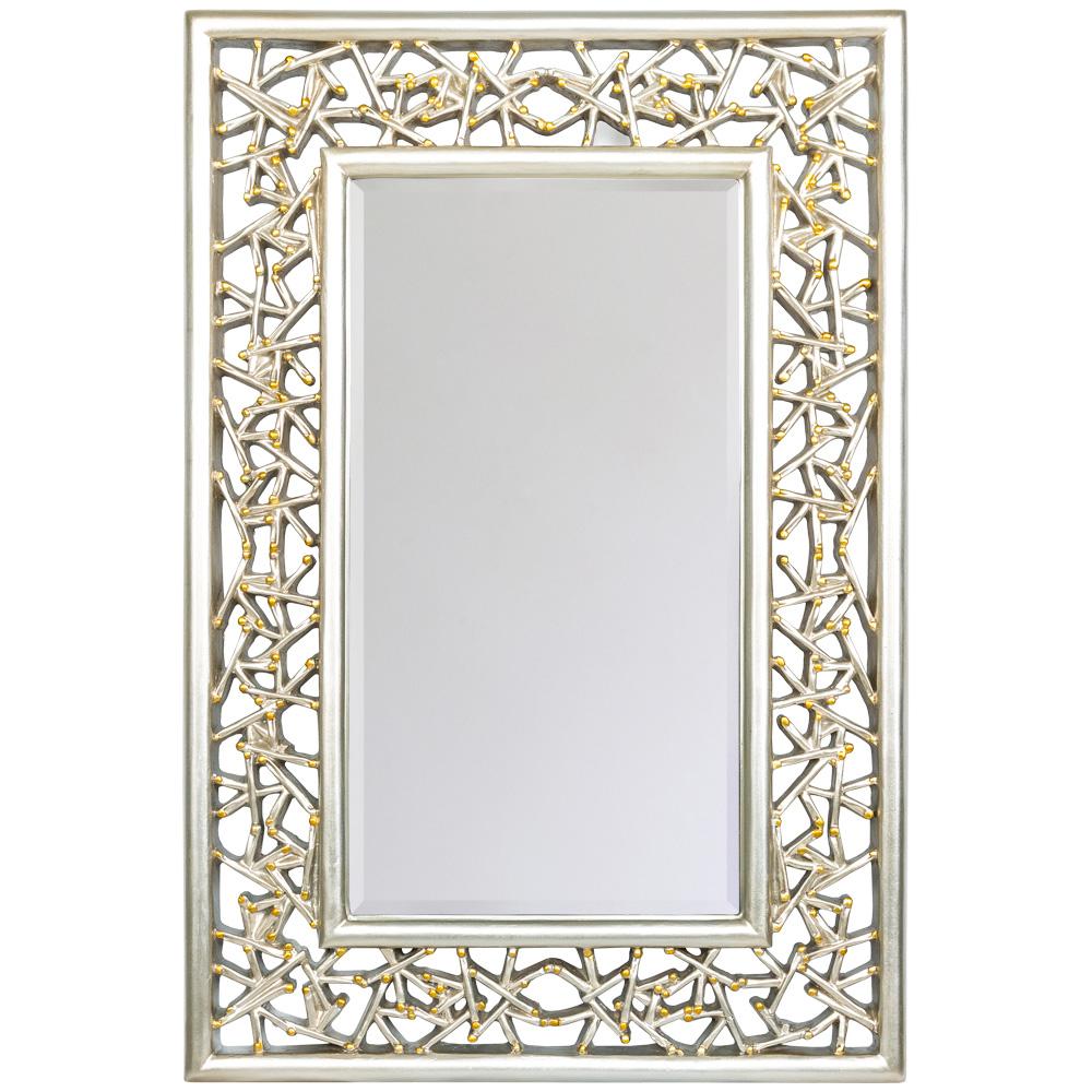 Купить Настенное зеркало кашмир в раме из полиуретана, inmyroom, Россия