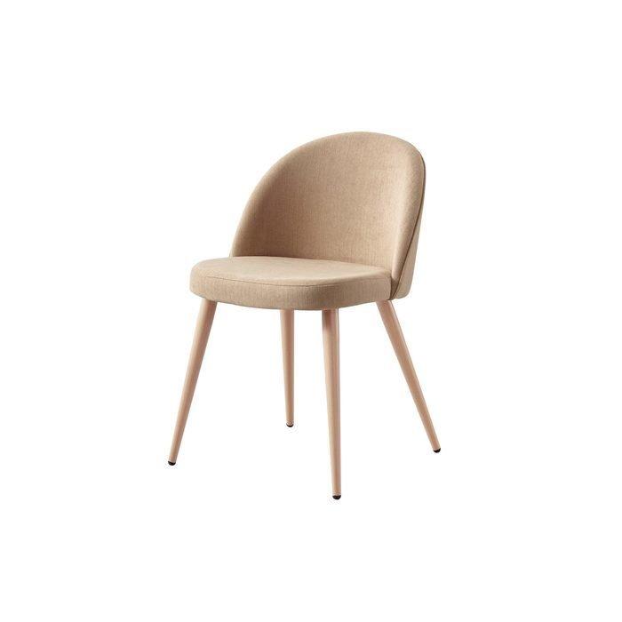 Бежевый стул Томас с мягким сидением