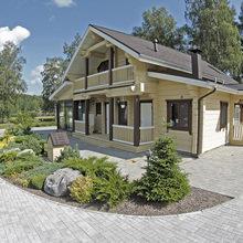 Фото из портфолио Деревянный дом – фотографии дизайна интерьеров на InMyRoom.ru