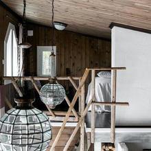 Фотография: Спальня в стиле Кантри, Скандинавский, Дом и дача – фото на InMyRoom.ru