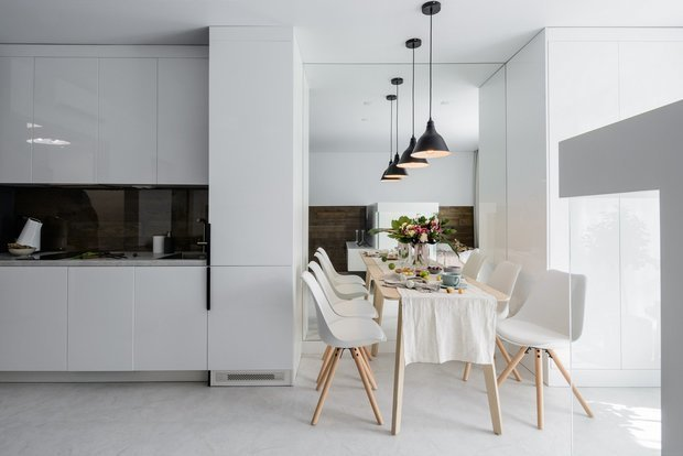 Фотография: Кухня и столовая в стиле Скандинавский, Советы, дизайн-хаки – фото на INMYROOM