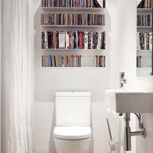 Фотография: Ванная в стиле Современный, Перепланировка – фото на InMyRoom.ru