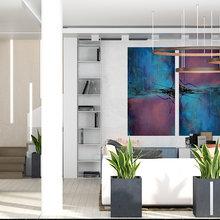 Фото из портфолио Вилла: зал и кухня – фотографии дизайна интерьеров на INMYROOM