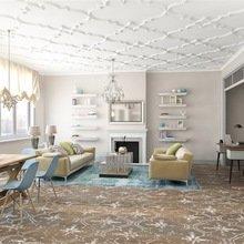 Фотография: Гостиная в стиле Эклектика, Квартира, Дома и квартиры, Надя Зотова – фото на InMyRoom.ru