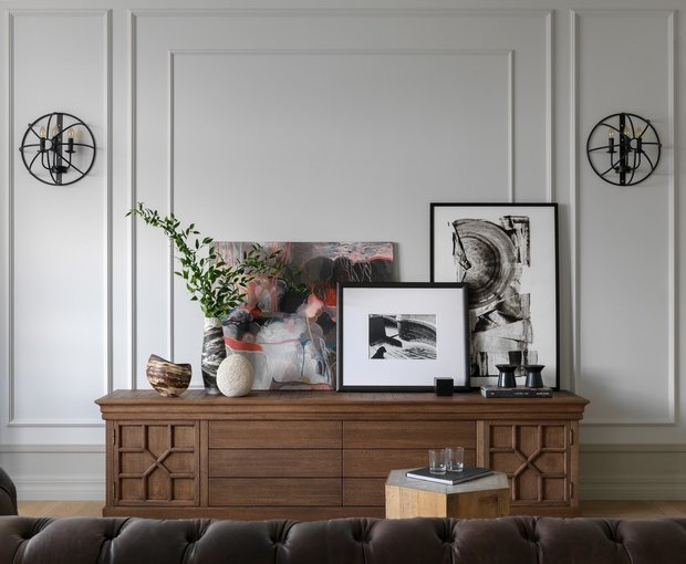 Фотография: Гостиная в стиле Классический, Эклектика, Советы – фото на INMYROOM
