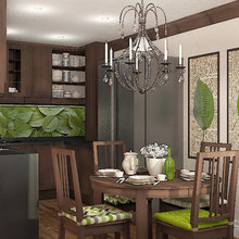 Фото из портфолио Зеленый чай – фотографии дизайна интерьеров на INMYROOM