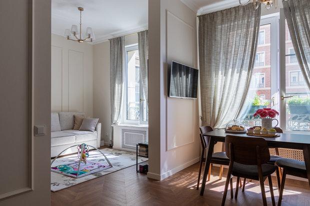 Фото из портфолио Интерьер 1-комн квартиры в ЖК Ботаника – фотографии дизайна интерьеров на INMYROOM