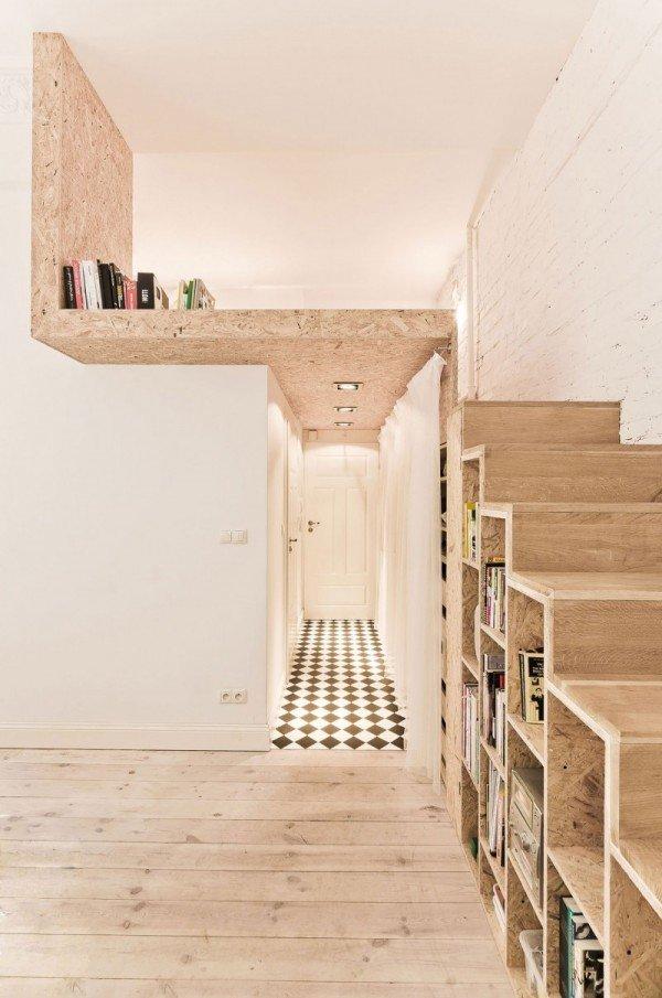 Фотография: Прихожая в стиле Лофт, Малогабаритная квартира, Квартира, Дома и квартиры, Минимализм – фото на InMyRoom.ru