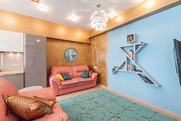 Фотография:  в стиле , Советы, Ремонт на практике, маркерная краска, как правильно покрасить стены, использование краски в интерьере, окрашивание стен, особенности окрашивания стен – фото на InMyRoom.ru