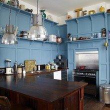 Фотография: Кухня и столовая в стиле Кантри, Скандинавский, Дом, Дома и квартиры, Лондон – фото на InMyRoom.ru